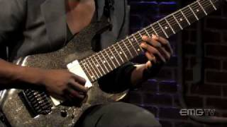 "Animals as Leaders, Tosin Abasi plays ""Wave of Babies"" on EMGtv"