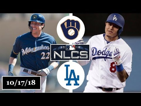 Milwaukee Brewers vs Los Angeles Dodgers Highlights || NLCS Game 5 || October 17, 2018