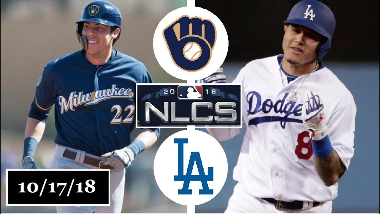 19c07d68ea8 Milwaukee Brewers vs Los Angeles Dodgers Highlights