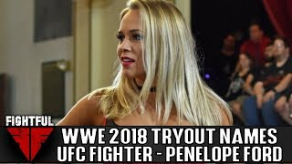 WWE Announces Tryout Participants: Penelope Ford, Floribama Shore Star, Former UFC Fighter