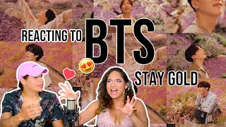 Waleska & Efra react to BTS (방탄소년단) 'Stay Gold' Official MV …