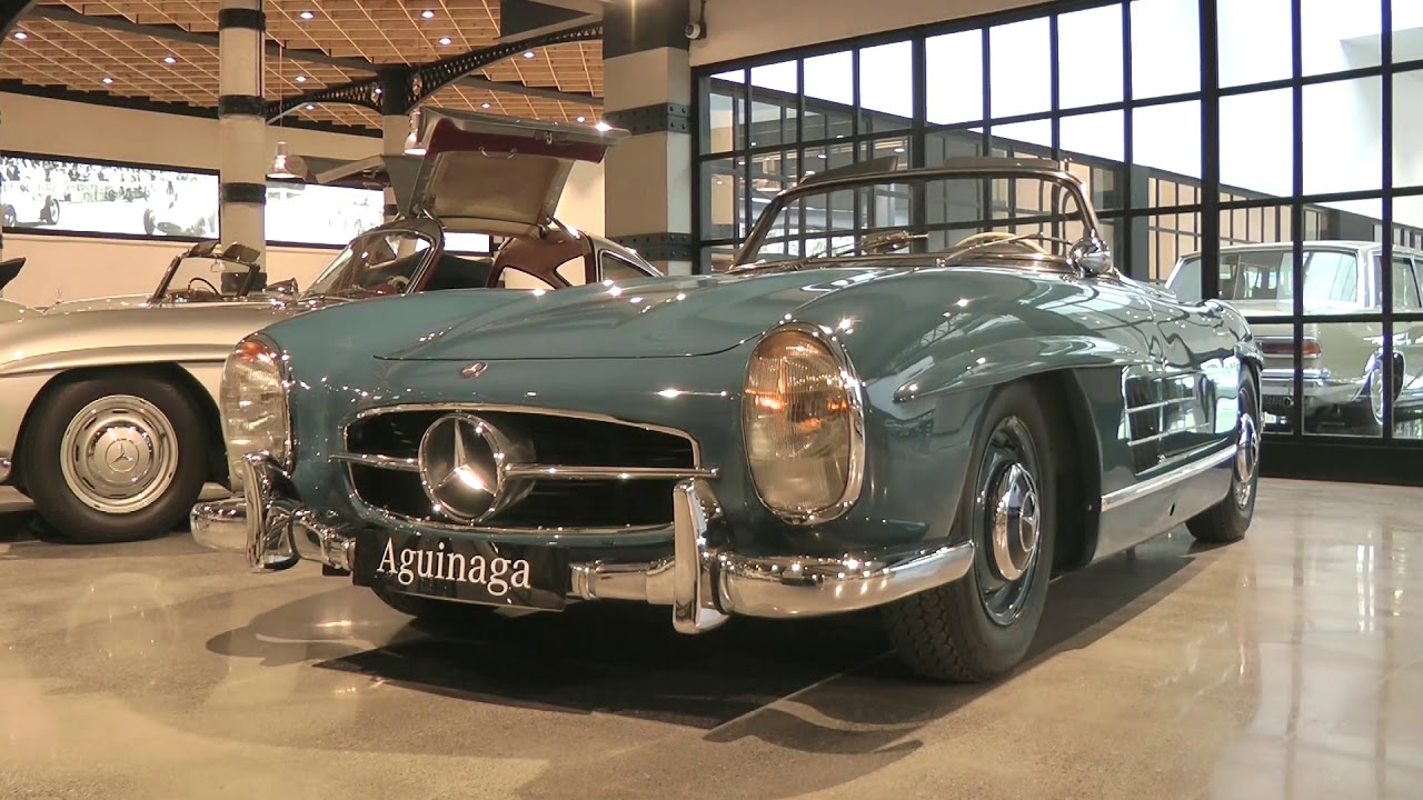 Museo Mercedes Benz.Museo Aguinaga Youtube
