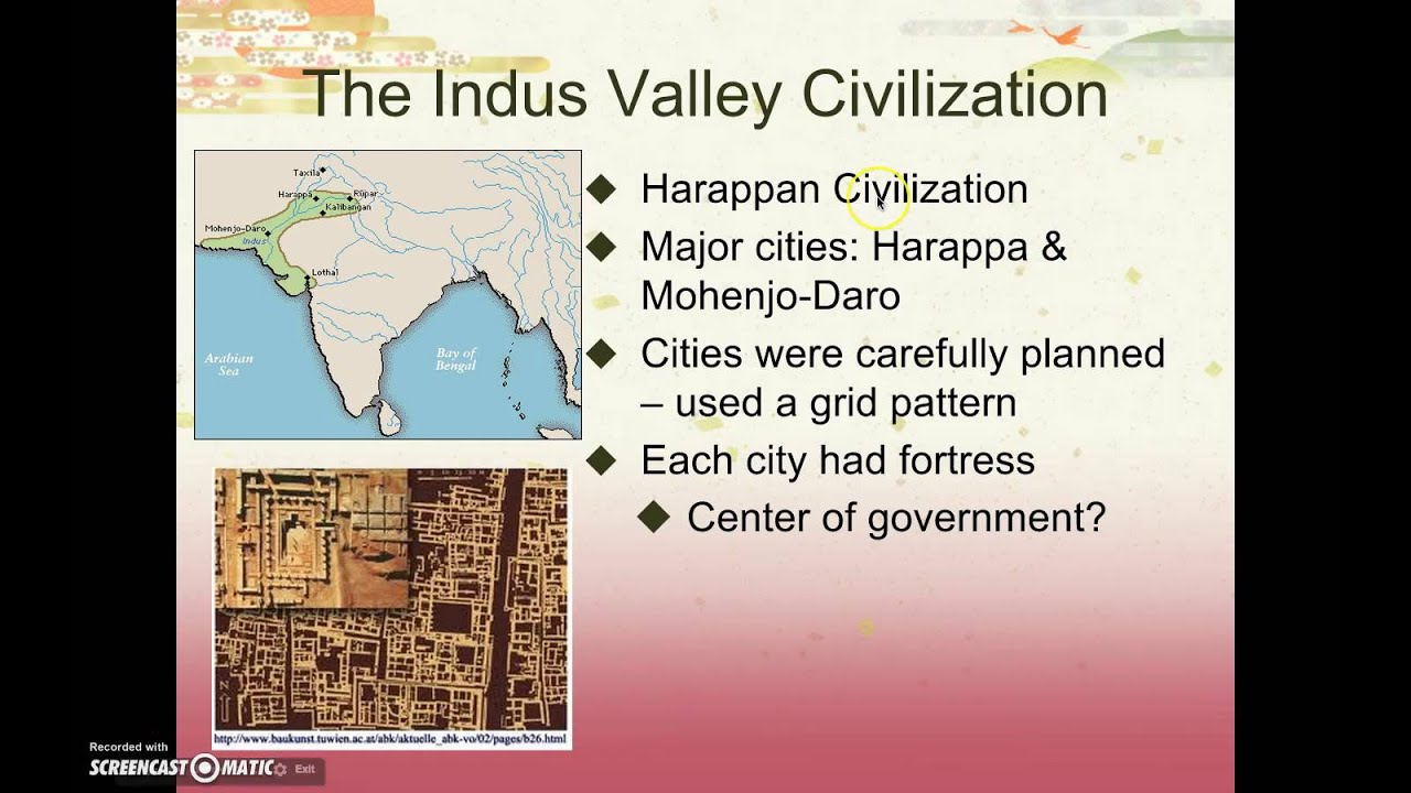 Ap World History Period 1 Indus River Valley Civilizations Part I