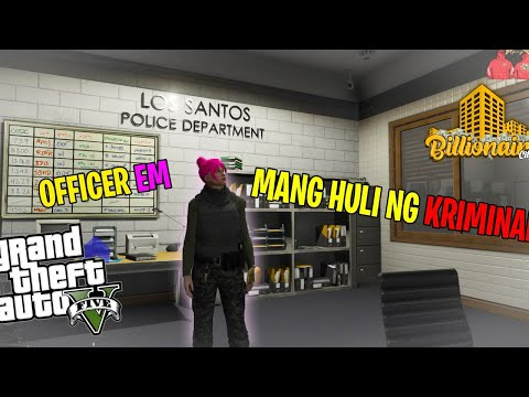 MANG HULI NG KRIMINAL SA THE BILLIONAIRE CITY  | GTA 5 ROLEPLAY