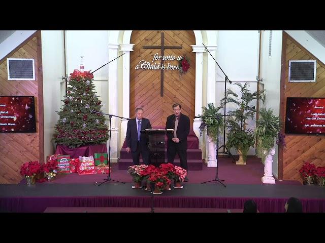 2019.12.22 - Christmas Service Sermon