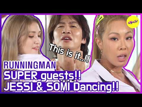 [HOT CLIPS] [RUNNINGMAN] Queens are back again! JESSI & SOMI (ENG SUB)