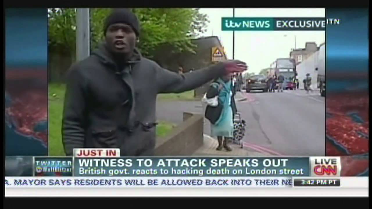 British soldier hacked to death in London, witness who filmed attackers  speaks out (May 22, 2013)