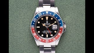 The Pilot's Watch | Rolex GMT Master ref. 1675/16710