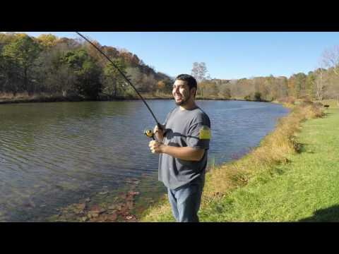 Fall Fishing Nottingham Park, PA
