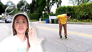 I LOST MY ENGAGEMENT RING!!! **HE FREAKED OUT**