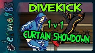 Divekick: 1v1 Jerma vs. STAR_ Curtain Showdown