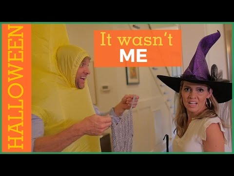 It Wasn't Me | Halloween Parody | The Holderness Family