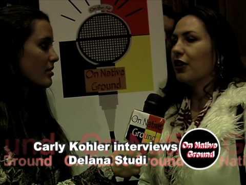 On Native Ground Intv's Delana Studi