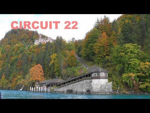 SWITZERLAND - Suiza - Lake Brienz, Iseltwald, Sigriswil, Gunten, Oberhofen, Lungern