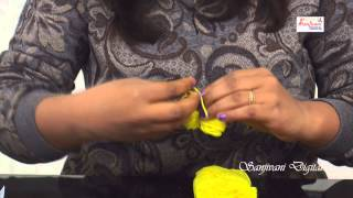 How To Make Fabric Olen Door Mat - By Bably Chndra