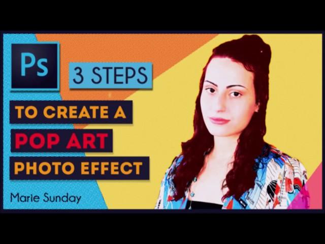 Pop Art Portrait in 3 Steps | Photoshop