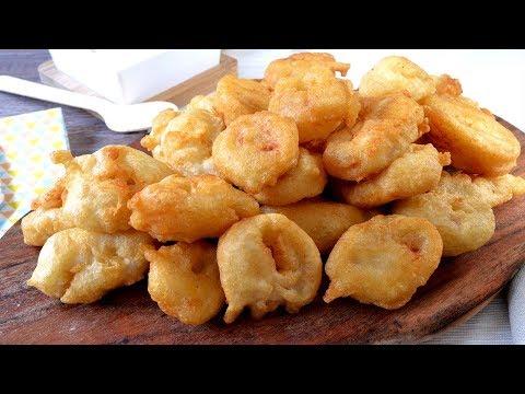 Cómo hacer calamares a la romana caseros muy esponjosos y crujientes. Receta fácil y deliciosa