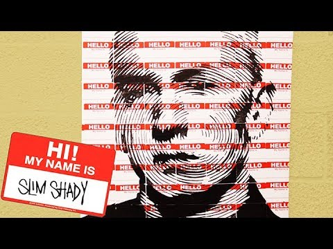Eminem Made With Hello My Name Is Stickers