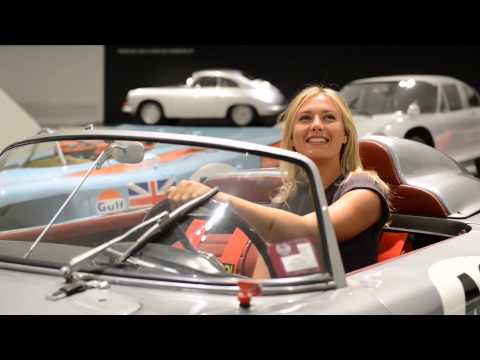 Tennis idol Maria Sharapova becomes brand ambassador of Porsche AG