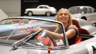 Tennis idol Maria Sharapova becomes brand ambassador of Porsche AG
