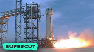 Watch Every Blue Origin New Shepard Launch! (in 21 minutes)