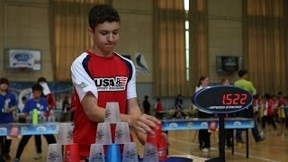 Sport Stacking: William Polly