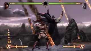 Mortal Kombat 9 - Skarlet's Combo Compilation