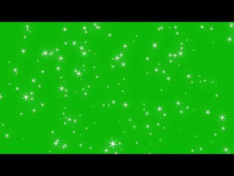 Sparkle Glitter #1 - 4K Green screen FREE high quality effects
