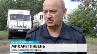 Подтопление в Мазановском районе