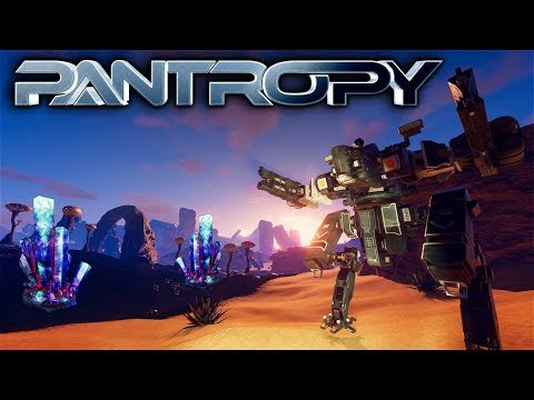 Pantropy - TIER 2 MECH & MINING PANTRONITE - Let's Play Pantropy Gameplay Part 6 (Sci-fi MMOFPS RPG)