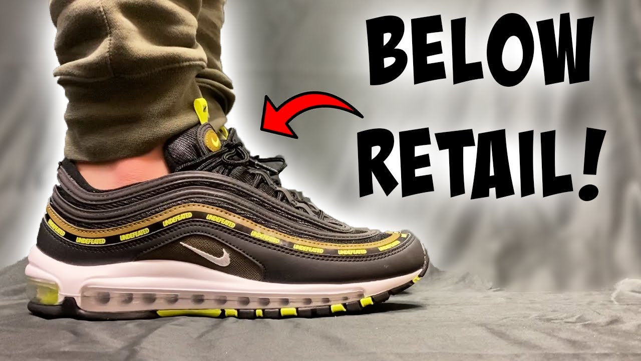 The BEST Under Retail Sneaker Collaboration? Undefeated Air Max 97 Neon ON FEET!