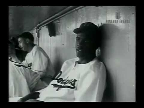 Classic Jackie Robinson Footage