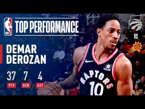 Download Youtube: DeMar DeRozan Scores 37 Pts in Victory Over the Suns | December 13, 2017