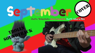 SEPTEMBER - Justin Timberlake, Anna Kendrick, Earth Wind & Fire COVER