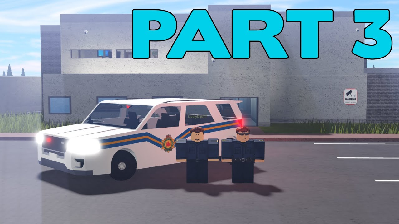 ROBLOX Vancouver Corrections Service Part 3 | A Shift With My Dad!