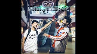 mobile prank on strangers (at mantra mall attapur hyd t.s )