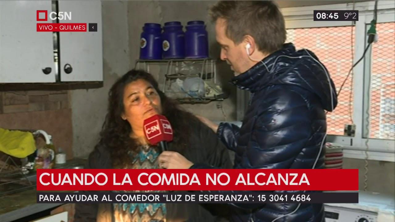 """""""Luz de Esperanza"""" otro comedor complicado por las tarifas en Quilmes"""