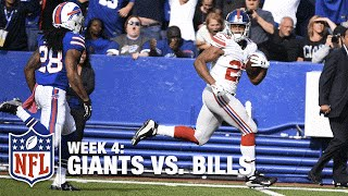 Rashad Jennings' HUGE 51-Yard TD Catch-'n-Run | Giants vs. Bills | NFL