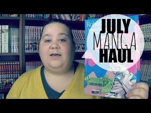JULY MANGA HAUL | Viz Media Sale!