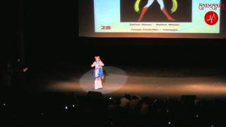 Animania 2010 Sailor Moon Usagi Tsukino cosplay defile