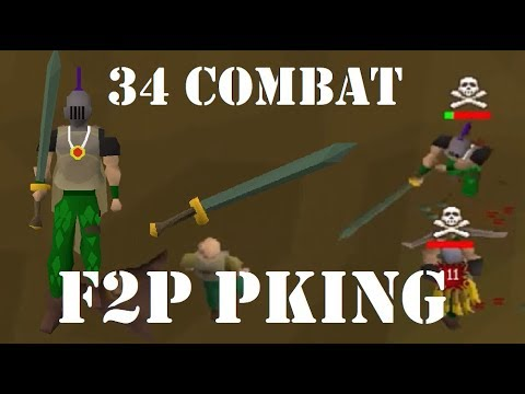 30 Attack F2P Mini Risk Fight osrs // Thick Stack // by gLadd