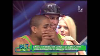 ¿Jota y Stephany Loza se besaron en BLT?