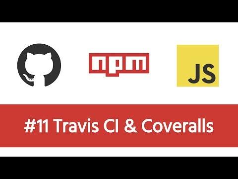 Build a Modern JS Project - #11 Travis CI & Coveralls