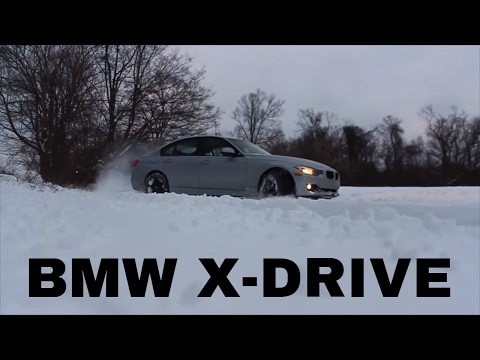 POV: HOW GOOD IS BMW'S XDRIVE IN THE SNOW?