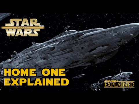 The Flagship of Admiral Ackbar: Home One (Legends) - Star Wars Explained