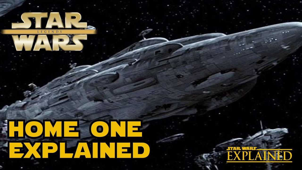 The flagship of admiral ackbar home one legends star for Home one