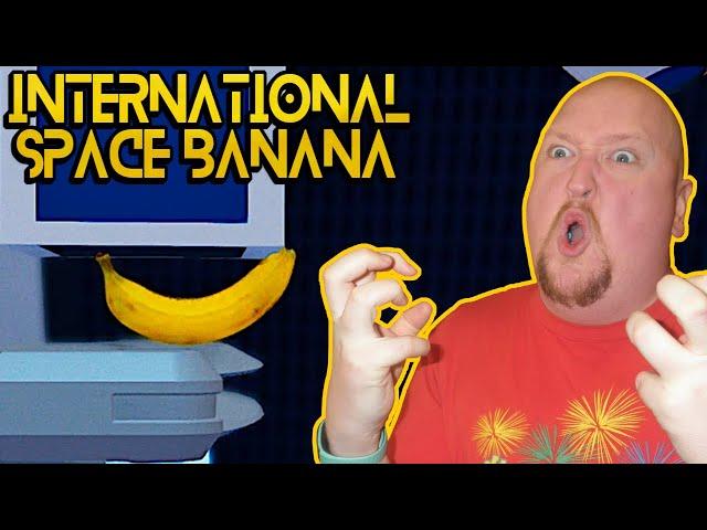 THIS GAME WILL MAKE YOU RAGE!!! - International Space Banana Gameplay
