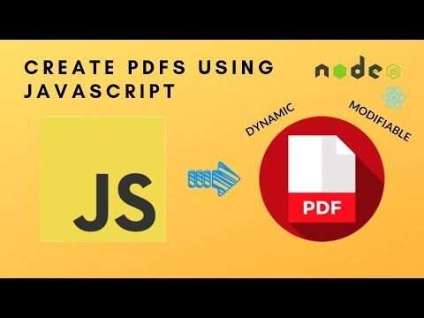 How To Create PDFs With Node JS And React