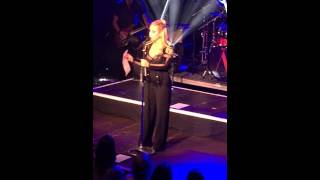 Anastacia l'hommage à Prince  Luxembourg 21/04/16