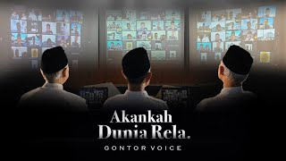 Akankah Dunia Rela - Gontor Voice - Official Music Video